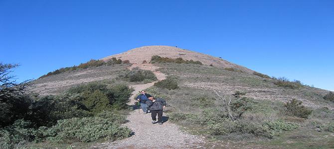La ruta al Montcau